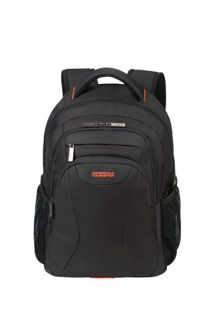 "American Tourister At Work Laptop Backpack 15,6"" Black voorkant"