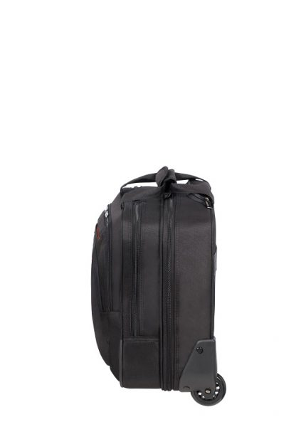 """American Tourister At Work Roling Tote 15,6"""" Black zijkant"""