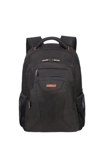 "American Tourister At Work Laptop Backpack 17,3"" Black voorkant"