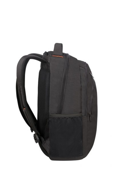 "American Tourister At Work Laptop Backpack 17,3"" Black zijkant"