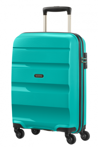 American Tourister Bon Air Spinner S Deep Turuoise voorkant